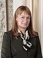 Sandra Roelofs (cropped from Saakasvili - Obama meeting).jpg