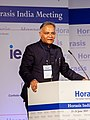 Sanjay Verma, Ambassador of India to Spain, speaking on behalf of the Government of India (cropped).jpg