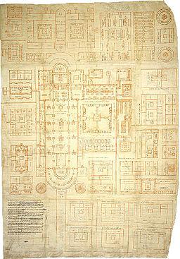 Sankt Galler Klosterplan (ca 800)