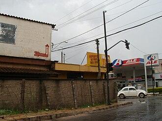 Santa Cruz de Minas - A view of a street of Santa Cruz de Minas