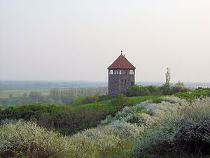 Santok - Santok watchtower, 1936 reconstruction