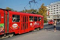Sarajevo Tram-248 Line-3 2011-10-31 (2).jpg