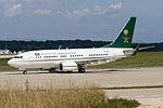 Saudi Ministry of Finance and Economy, HZ-MF1, Boeing 737-7FG(BBJ) (20837307072).jpg