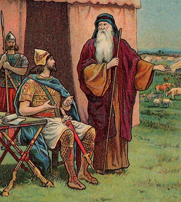 Saul Rejected as King (Bible Card)