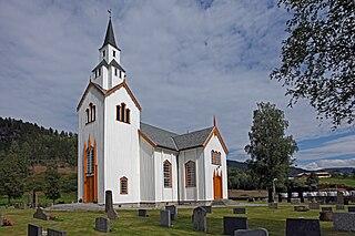 Sauland Village in Eastern Norway, Norway