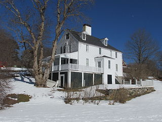 Sayward-Wheeler House building in Maine, United States