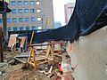 Scanning the excavation of a TTC elevator, median of University at Dundas, 2017 06 06 -e (35177143125).jpg