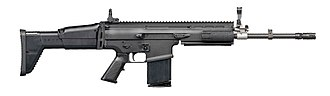 Battle rifle - Belgian FN SCAR-H