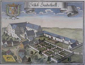 Sandersdorf Castle - Image: Schloss Sandersdorf