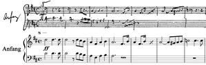 Symphony No. 10 (Schubert) - Image: Schubert Symph 10 1st mov