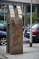 Sculpture Cross Tower Wolf Glossner Karmarschstrasse Hanover Germany 02.jpg