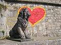 Sculptures in Würzburg - Lion by Main - IMG 6687.JPG