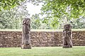 Sculptures of trolls in the park at Kalmar Castle 2017-07-30.jpg