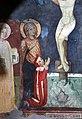 Scuola toscana, crocifissione e santi con stemmi monaldeschi, 1293, 02.jpg