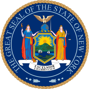 Seal of New York.