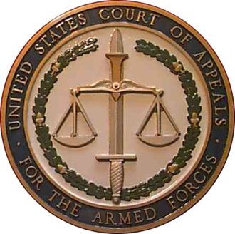 United States Court of Appeals for the Armed Forces - Image: Seal of the United States Court of Appeals for the Armed Forces
