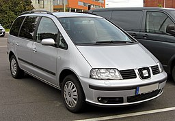 Seat Alhambra Facelift 20090706 front