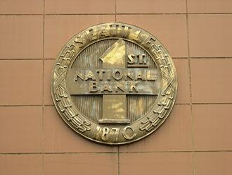 Seafirst Bank - Image: Seattle Georgetown Seafirst logo