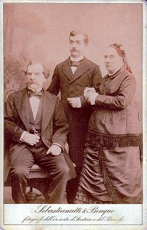 Franz Benque - Image: Sebastianutti, Guglielmo (1825 1881) & Benque, Franz (1841 1921) Famiglia
