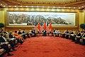 Secretaries Kerry, Lew Brief Chinese President Xi on Two Days of Meetings in Beijing (14617233184).jpg