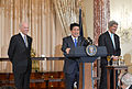 Secretary Kerry Co-Hosts Lunch for Japan Prime Minister Abe With Vice President Biden - 17304432025.jpg