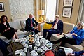 Secretary Kerry and Assistant Secretary Patterson Meet With United Nations Special Envoy for Syria Mistura in London (28128318840).jpg