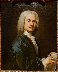 Self portrait by Jacopo Amigoni, probably London, 1730-1735, oil on canvas - Hessisches Landesmuseum Darmstadt - Darmstadt, Germany - DSC01160.jpg