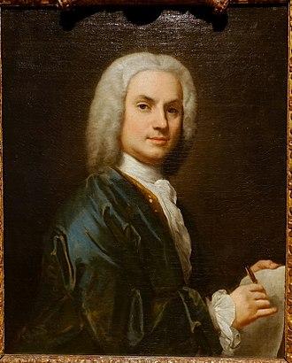 Jacopo Amigoni - Self-portrait, 1730-1735