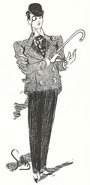 Sem (artist) - Self portrait (1888).