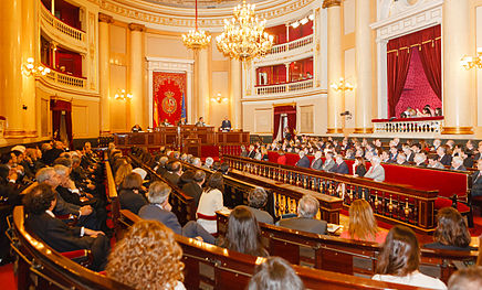 Palacio del Senado (España) - Wikipedia, la enciclopedia libre
