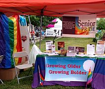 Senior PRIDE initiative at Lexington Pride 2015.jpg