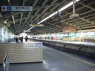 Jamsillaru station - Image: Seongnst 03