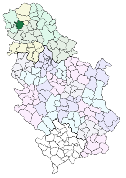 ruski krstur mapa Општина Кула — Википедија, слободна енциклопедија ruski krstur mapa
