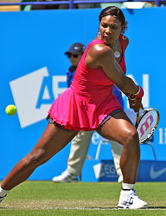 Serena Williams at the 2011 AEGON International