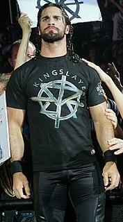 Seth Rollins American professional wrestler