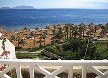 Sharm el-Sheikh, notissima località turistica e balneare.