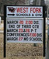 Sheffield Iowa 20090322 High School Sign.JPG