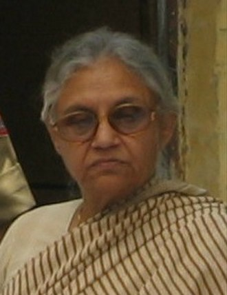Chief Minister of Delhi - Image: Sheila Dikshit (cropped)