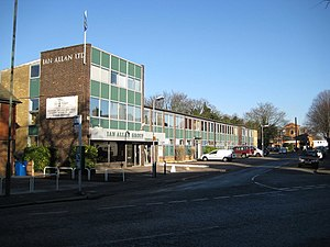 Ian Allan Publishing - Image: Shepperton, Ian Allan Ltd geograph.org.uk 1078155