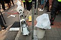 Sheung Yuet Road lamppost after protesters destroy 20190824.jpg