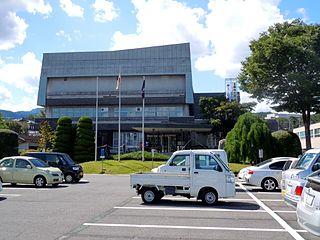 Shibukawa, Gunma City in Kantō, Japan