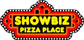 ShowBiz Pizza Place - The First Logo used from 1980 to 1989..