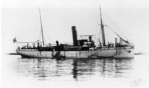 Koetei-class gunboat - The gunboat Siboga