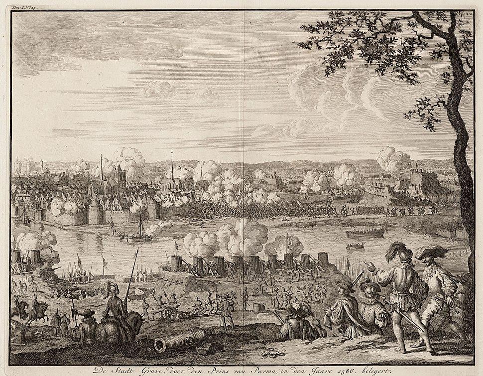 Siege of Grave - Beleg van Grave door de Prins van Parma (1586)