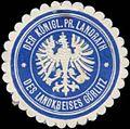 Siegelmarke Der Königl. Pr. Landrath des Landkreises Görlitz W0381752.jpg
