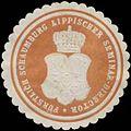 Siegelmarke Fürstl. Schaumburg Lippischer Seminar-Director W0350345.jpg