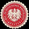 Siegelmarke Königlich Preussische Regierungs - Hauptkasse - Münster W0246974.jpg