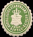 Siegelmarke Königlich Sächsisches Standesamt Ostritz - Amtsh. Zittau W0205133.jpg