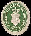 Siegelmarke Königlich Sächsisches Standesamt Seelingstädt - Amtshauptmannschaft Zwickau W0252193.jpg