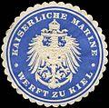 Siegelmarke K. Marine Werft zu Kiel W0285640.jpg
